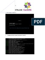 Instalasi Linux CentOS