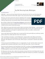 Voracious Invader May Be Nearing Lake Michigan - NYTimes