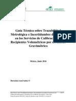 PDF Calibracion CALIBRACION Volumen Metodo Gravimetrico v03(1)