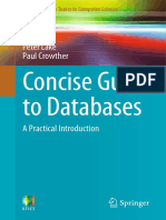 Concise Guide to Databases_ a Practical Introduction