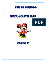 Sintesis Español 5º