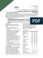 Analisis financiero Falabella
