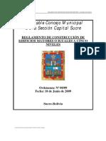 Reglamento de Construccion de Edificios