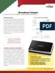 CradlePoint CBA250 DataSheet