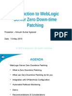 WLS ZeroDowntime Patching