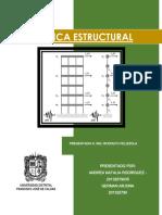 Ejercicio Resuelto Dinamica Estructural Respuesta en Sentido X
