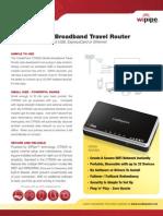 CradlePoint CTR500 DataSheet