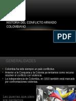 Historia Del Conflict Oen Colombia