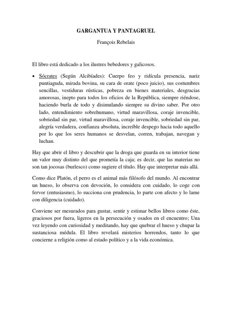 gargantua y pantagruel pdf completo