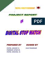 Digital Stop Watch