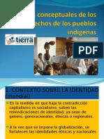 BASES CONCEPTUALES DE LOS DERECHOS DE LOS PUEBLOS INDIGENAS. Alcides VAdillo.ppt