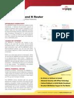 CradlePoint MBR900 DataSheet