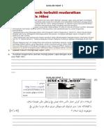 Soalan Kbat Teknik Menjawab pendidikan syariah islamiah