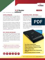 CradlePoint MBR1200 DataSheet