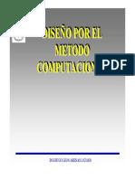DISEÑO METODO COMPUTACIONAL