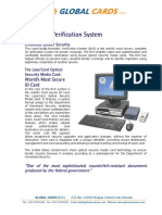 Biometric Verification System
