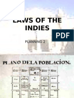 1. Laws of the Indies