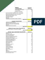 Presupuesto de Vivienda Los Ficus, Playa de Estacionamiento de Uribe