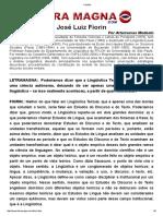 FIORIN Entrevista Texto e Discurso