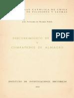 Armando de Ramón -  Descubrimiento de Chile y compañeros de Almagro.pdf