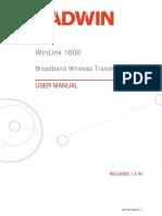 User Manual Rw Winlink1000