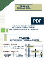 Manejo Inicial Trauma Atls 2015ppt