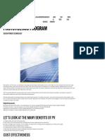 Diverse Power - Solar Photovoltaic Program