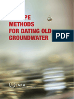 Groundwater Dating (Pub1587)