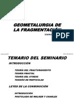 Geometalurgia de La Fragmentacion