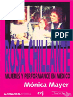 Mayer, Mónica - Rosa Chillante (Mujeres y Performance en Mexico)