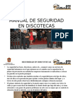 Manual de Seguridad en Discotecas