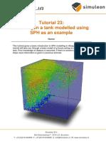 Tutorial 23- SPH Modelling
