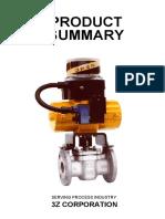 Product Summary-3Z Corporation Catalog