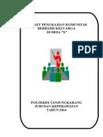 Format Dokumentasi Askep Komunitas