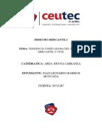 Tendencia Unificadora Del Derecho Mercantil-26!07!2016