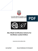Air and Water Cooled Chillers Certification Scheme