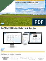 OpenSAP Fiori1 Challenge SAP Fiori UX Design History and Overview