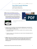Csm Platetectonics Activity1 Worksheet v3 Tedl Dwc