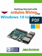Getting Started With Arduino Wiring for Windows 10 IoT Core - Agus Kurniawan