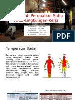 Pengaruh Perubahan Suhu Pada Lingkungan Kerja