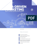 Data Driven Marketing eBook