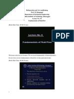Lec6_Fundamentals of Fluid Flow