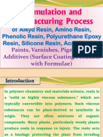 Formulation and Manufacturing Process of Alkyd Resin, Amino Resin, Phenolic Resin, Polyurethane Epoxy Resin, Silicone Resin, Acrylic Resin, Paints, Varnishes, Pigments & Additives (Surface Coating Products with Formulae)