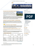 Pasadena Water & Power - Solar Initiative August 2016