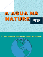 água na natureza