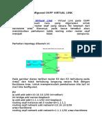 Konfigurasi Ospf Virtual Link