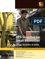 India Snapshot for Small Businesses
