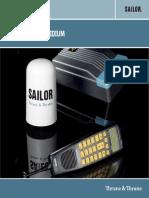 Data Sheet Iridium Accessori Manuale Tecnico Sailor SC4000