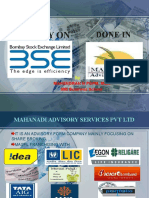 Complete details about Stock Market (BSE)