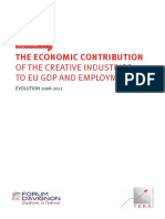 2014 Oct European Creative Industry GDP Jobs Full Report ENG
